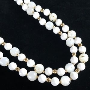 Vintage CORO Multi Strand Beaded Necklace